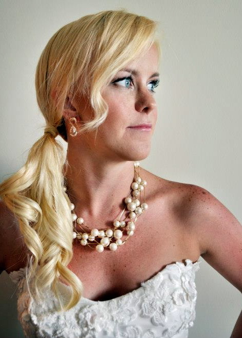 Hair & Makeup: Lauren Mantilla. Photography: JeriJonise Photography. Beautiful bride: Bridgette Alexander Sparks.