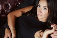 Hair & Makeup: Lauren Mantilla. Engagement session: Ashley Wayne.