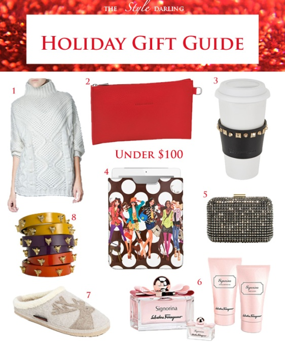 The Style Darling Holiday Gift Guide $100
