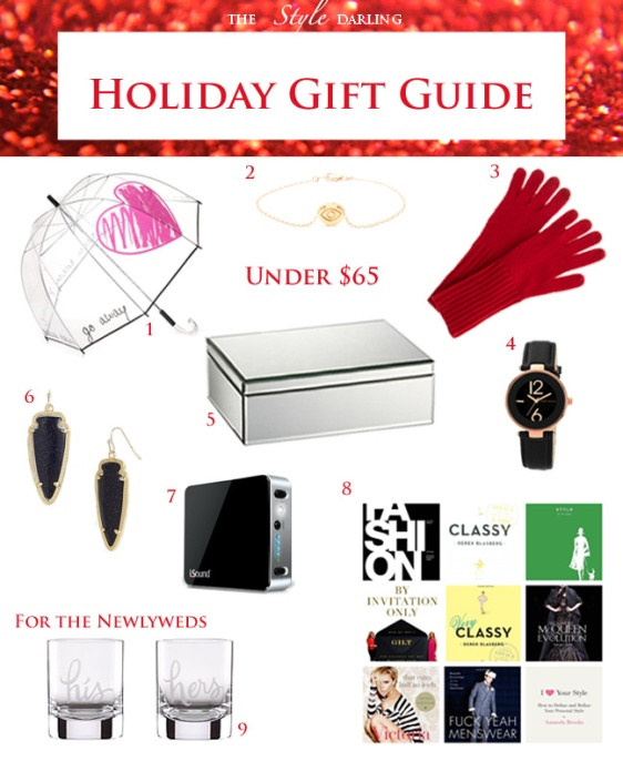 The Style Darling Holiday Gift Guide Under $65