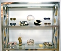 House of Harlow sunnies & Rafe clutches.