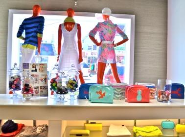 Super colorful summer accessories.